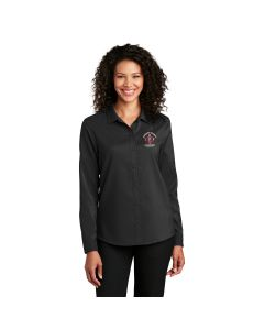 Port Authority ® Ladies Long Sleeve Performance Staff Shirt